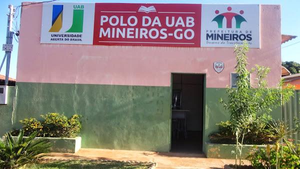 UAB - UNIVERSIDADE ABERTA DO BRASIL -  POLO UNIVERSITÁRIO DE MINEIROS-GO