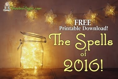 The Spells of 2016 FREE E-book