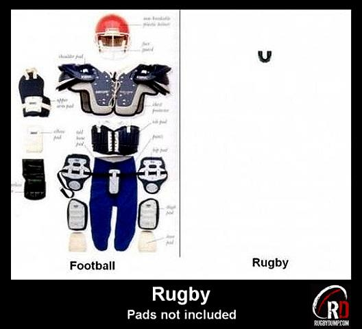 Diary Of A Grumpy Young Man: Gridiron V Rugby