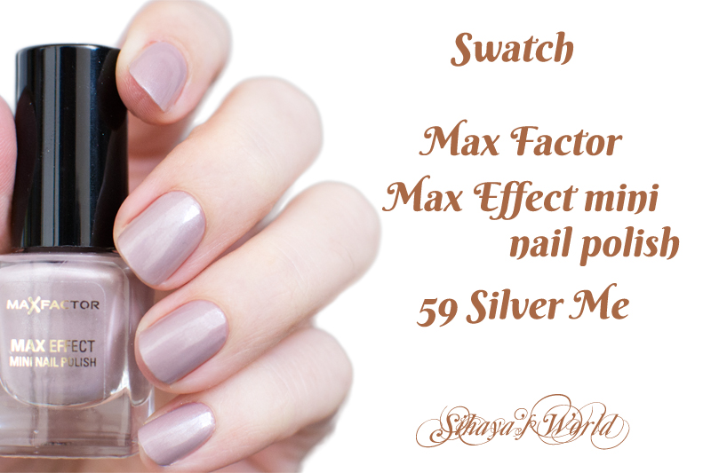 max factor max effect 59 silver me