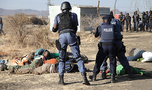 Lonmin Mine Police Shooting