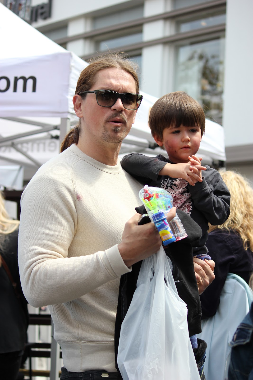 Photo of Steve Howey & his  Son   William Wolf Howey