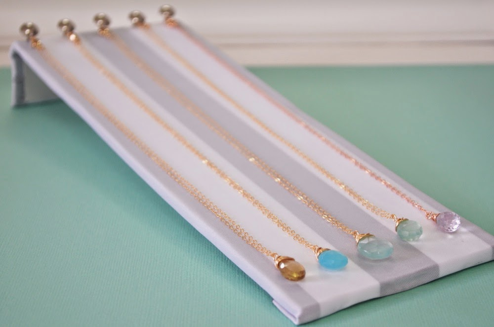 I Love How It Turned Out, These Displays Are Best For Fine, Delicate  Necklaces, Which I Like To Store Separately From My Larger Chunkier Pieces.