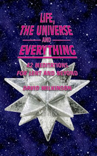 Douglas Adams plagiarised by David Wilkinson (or his publishers)