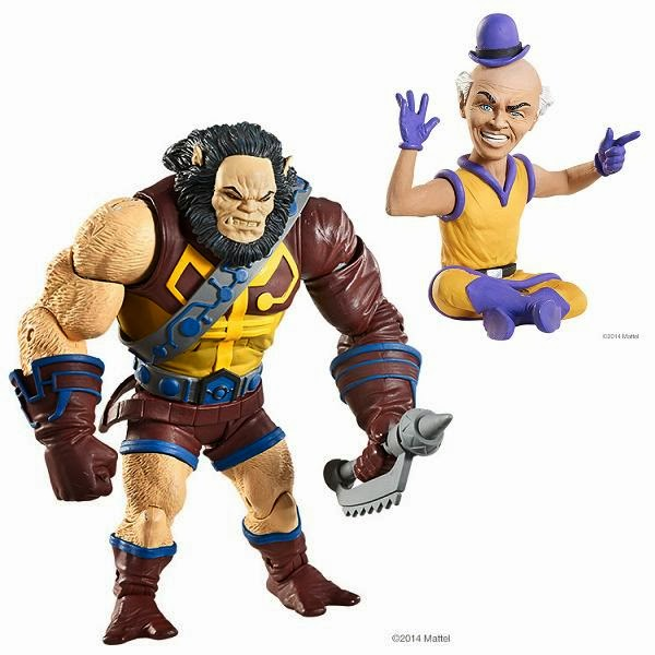 "DC Comics Super Powers 6"" Action Figures by Mattel - Kalibak & Mr. Mxyzptlk"