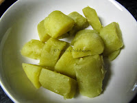 4 Sakkaravalli Kizhangu Fry | Sweet Potato Fry