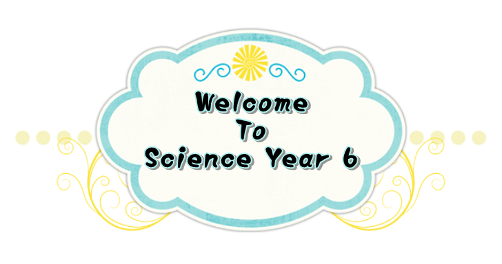 Welcome To Science Year 6