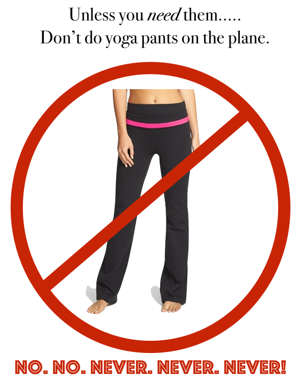 How to travel in style, Travel style tips, yoga pants