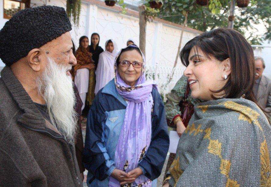 With Edhi Sahib