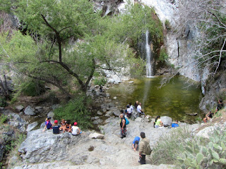 Fish Canyon Falls, Angeles National Forest