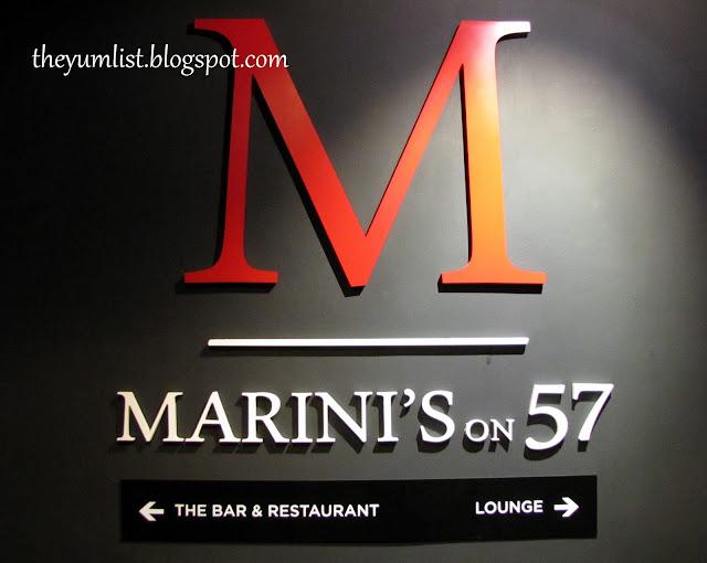 Marini's on 57, KLCC, Kuala Lumpur, Malaysia
