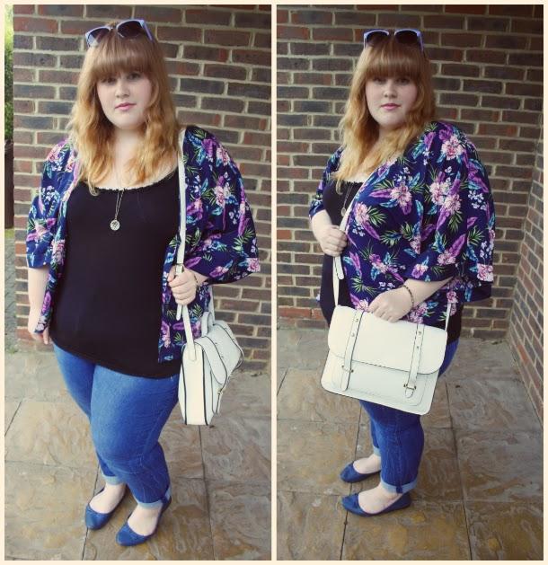 plus size fashion, kimono, plus size fashion blog, fashion and beauty blog