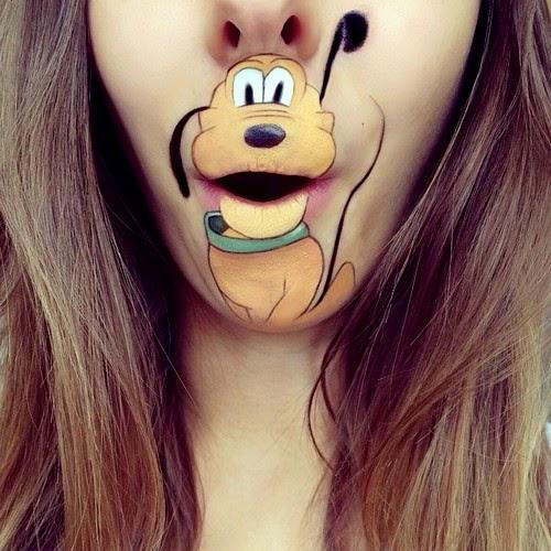 Laura Jenkinson's Lips Paint Art