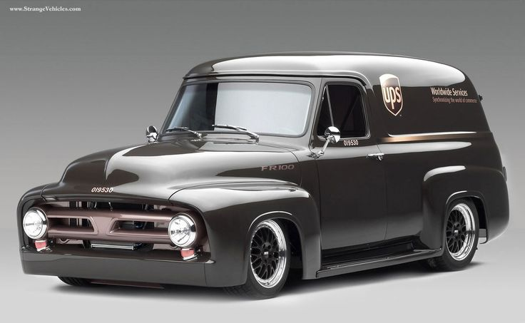 1956 ford f100 panel truck hot rod pictures wallpapers hot rod cars