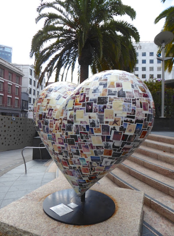 Polaroid Heart of San Francisco