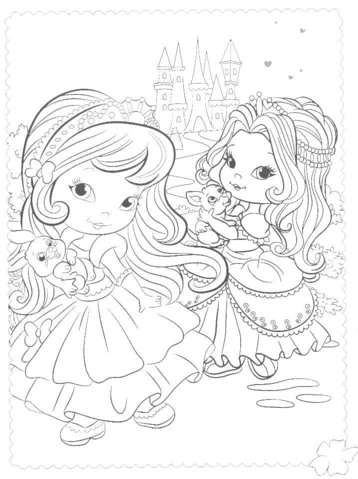 Rayito de colores princesas para colorear - Colores para colorear ...