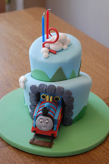 Cute Fondant Birthday Cakes For Boys
