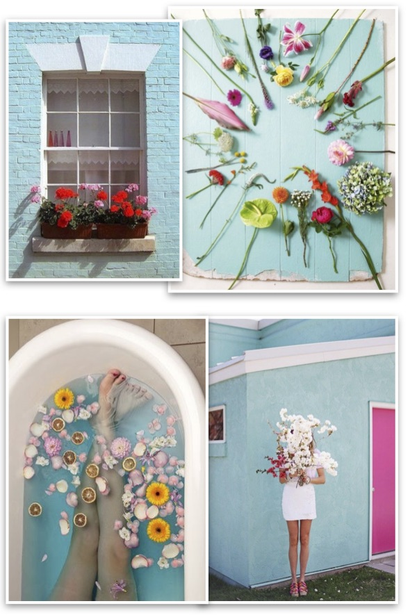 Red address inspiration mood flowers for Pinterest fiori