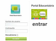 Portal educantabria - login