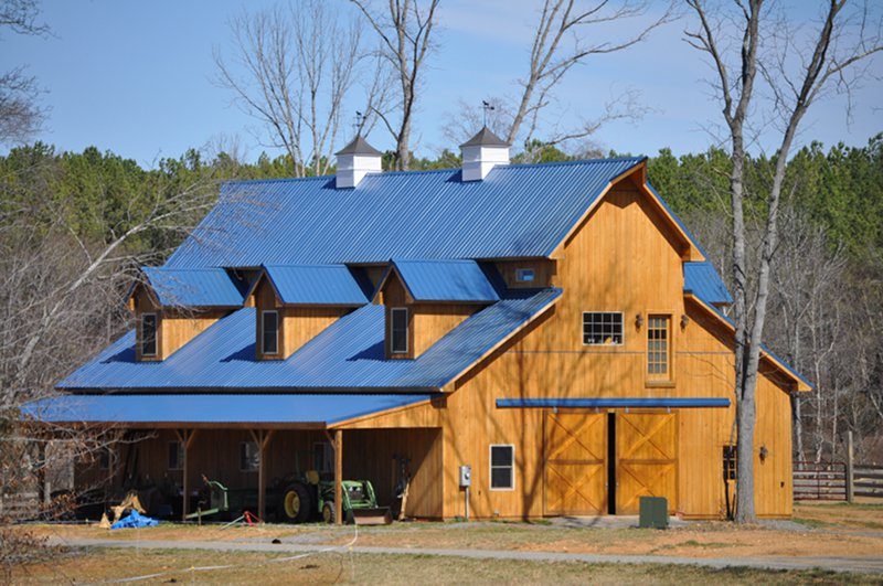 Rational preparedness the blog building an upscale for Building a barn to live in