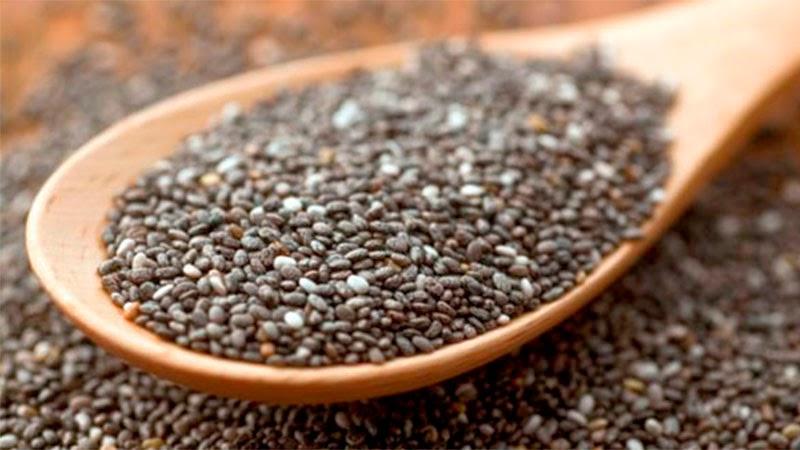las semillas de chia, uno de los superalimentos dukan