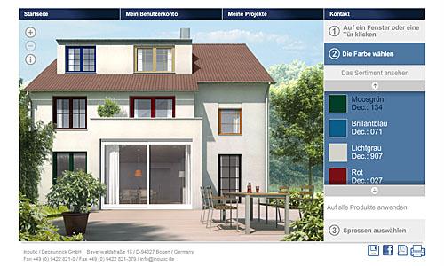 Türen und Fenster Konfigurator für Neubau oder Sanierung - Inoutic