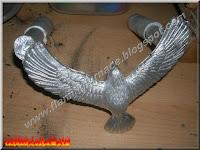 sand casting aluminum eagle