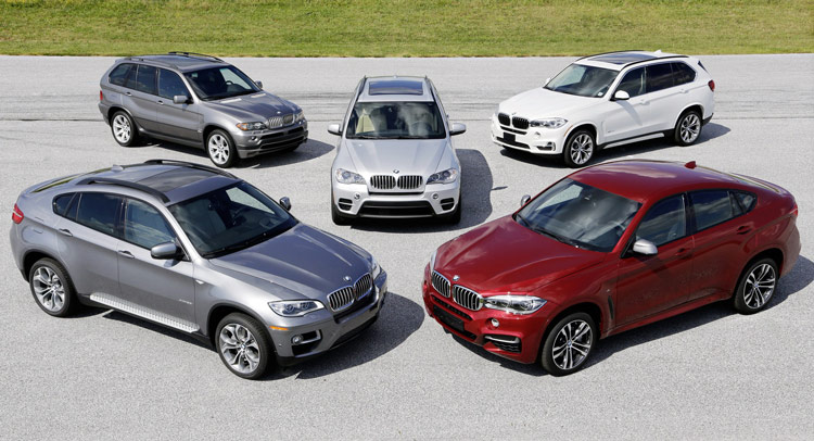 BMW X 15yo 611 BMW Celebrates 15 Years of X Models, We Ask You Which Was the Prettiest One?
