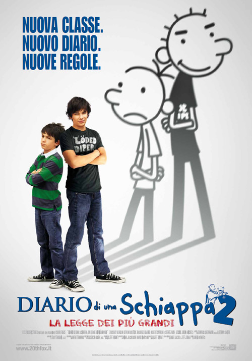 <p>Titolo originale: Diary of a Wimpy Kid: Rodrick Rules Nazione: U.S.A. Anno: 2011 Genere: Commedia Durata: 96&#8242; Regia: David Bowers Cast: Zachary Gordon, Devon Bostick, Rachael Harris, Robert Capron, Steve Zahn, Connor Fielding, Owen Best, Peyton List, Laine MacNeil, Grayson Russell, Terence Kelly Produzione: Color Force, Fox 2000 Pictures Distribuzione: 20th Century Fox Data di [...]</p>
