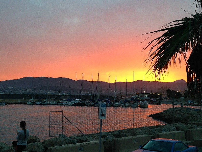 Sunset in Palma