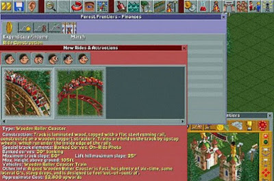RollerCoaster Tycoon 1 Screenshot Games PC