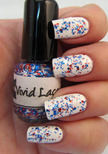 Paint me Patriotic over Milani White on the Spot