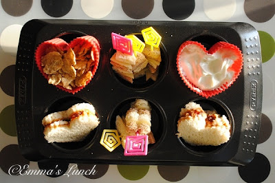 muffin tin valentines day