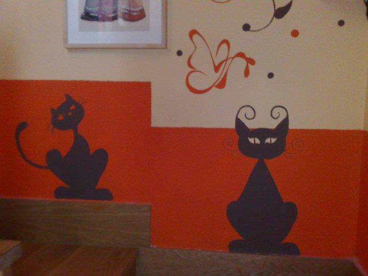 Murales pintados a mano margakekos creaciones - Murales pintados a mano ...