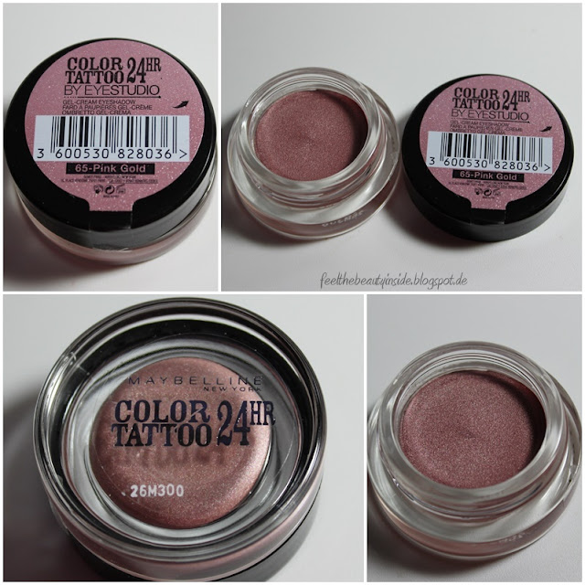 Feel the beauty inside review maybelline color tattoo 24 for Maybelline color tattoo gel eyeshadow