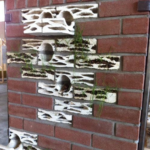 jardim vertical tijolo:Blog Cosmopolita Arquitetura: Tijolos de Jardim
