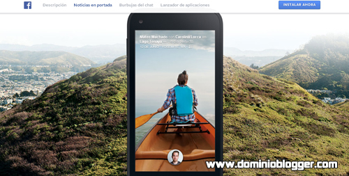 Descarga Facebook Home gratis en tu Smartphone