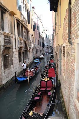Gondolas, Venecia