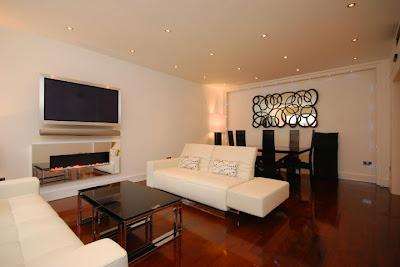 Interior ruang keluarga Rumah Modern
