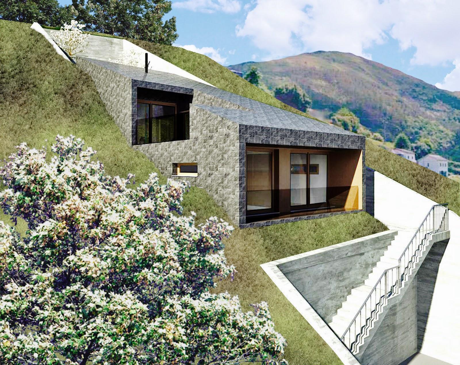 Bau estudio arquitectos proyecto b sico para vivienda - Arquitectos asturias ...