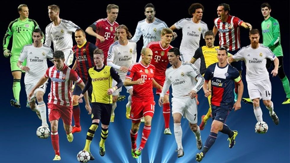 BEST FOOTBALL PLAYERS 2014