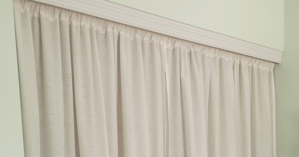 Replacing Closet Doors With Curtains Made From Bedsheets