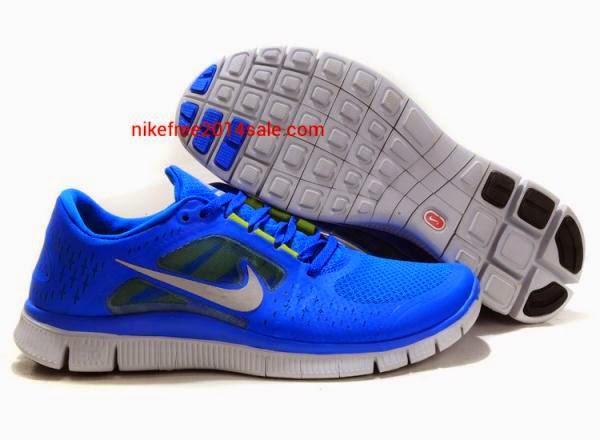 Nike Free Run   3 Mens Running Shoes Light MidnightTotal Orange