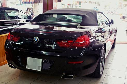 Cho thuê xe BMW 650i Mui Trần