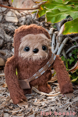 "San Diego Comic-Con 2015 Exclusive ""ChewLoth"" Manny the Sloth as Chewbacca Star Wars Plush by Flat Bonnie x Giant Robot"
