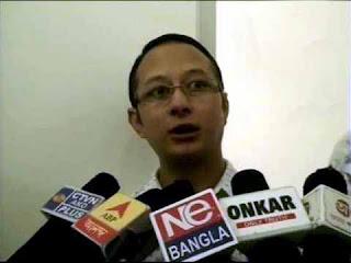 Madan Tamang's son Sanjog or sanyog