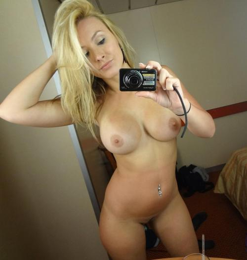 Dirty blonde self nude pics