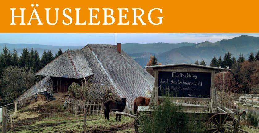 Häusleberg - Eseltrekking durch den Schwarzwald