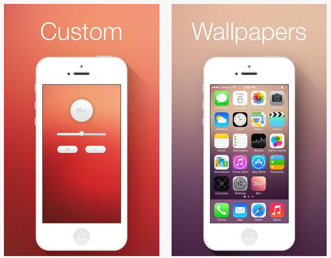 Fondos de pantalla para para iphone e ios7 nyneky for Aplicaciones de fondos de pantalla