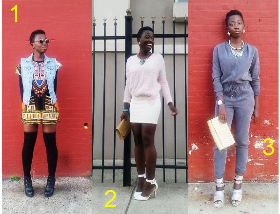 une-fille-trois-styles-nameita